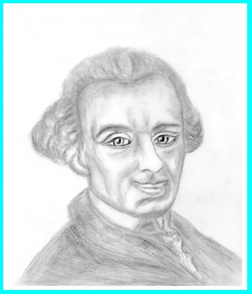 Immanuel Kant by Vuilletjossjoss